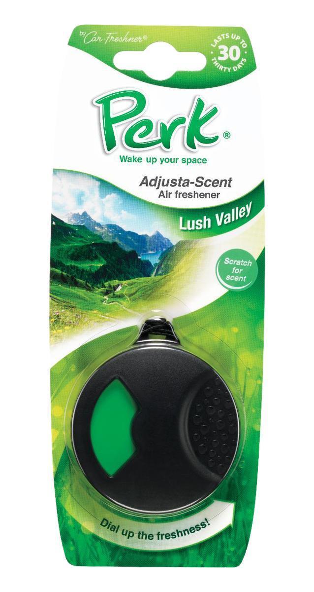 Ароматизатор подвесной с дозатором Perk Долина (Lush Valley)ДА-18/2+Н550Подвесной ароматизатор Perk с дозатором уникален по эффективности действия, насыщенности и стойкости запаха. Подходит для использования в салоне автомобиля, а также в помещениях.