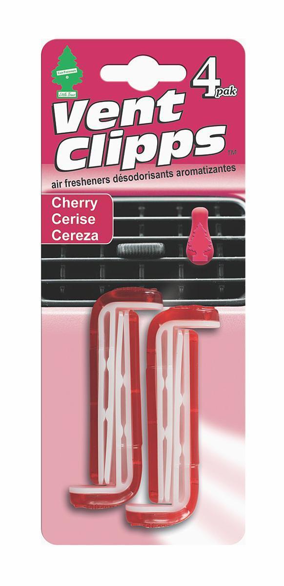 Ароматизатор Car-Freshner Vent Clipps аромат Cherry (Вишня)93287516Car-Freshner Vent Clipps устанавливается в дефлектор вентиляции автомобиля. Уникален по эффективности действия, насыщенности и стойкости запаха. В упаковке 4 штуки.
