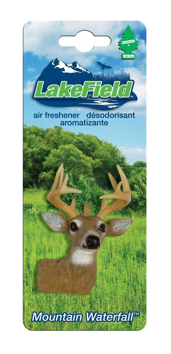 Ароматизатор Car-Freshner LakeField Олень3552/02Оригинальный ароматизатор Car-Freshner выполнен в виде головы оленя. Он эффективно нейтрализует посторонние запахи и наполняет воздух приятными свежим ароматом. Подвесьте ароматизатор за шнурок в любом удобном месте - в салоне автомобиля, дома или в офисе - и получайте удовольствие!Характеристики: Размер ароматизатора:6 см x 4 см x 2 см.Производитель:США.Изготовитель:Китай.Размер упаковки:19 см х 7,5 см х 3 см.Артикул:CTK-50921-24.