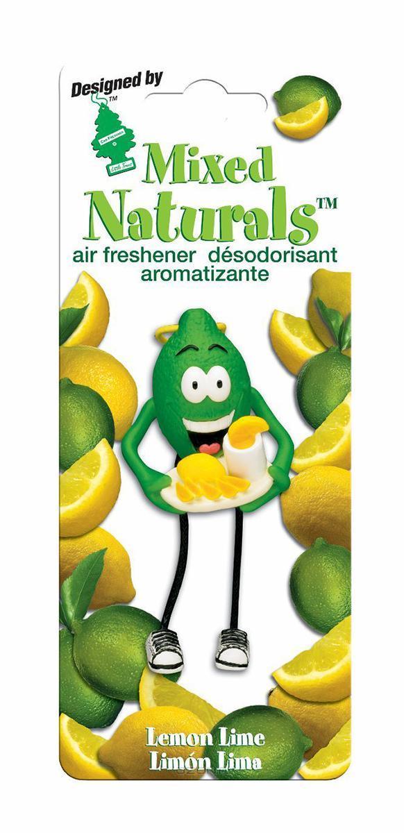 Ароматизатор Car-Freshner Mixed Naturals Лимон с лаймомRC-100BPCОригинальный ароматизатор Car-Freshner Mixed Naturals, выполненный в виде забавной фигурки, эффективно нейтрализует посторонние запахи и наполняет воздух яркими насыщенными ароматами.Подвесьте ароматизатор за шнурок в любом удобном месте - в салоне автомобиля, дома или в офисе - и получайте удовольствие!Характеристики: Размер ароматизатора:8 см x 4 см x 4 смИзготовитель:КитайАртикул:CTK-51802