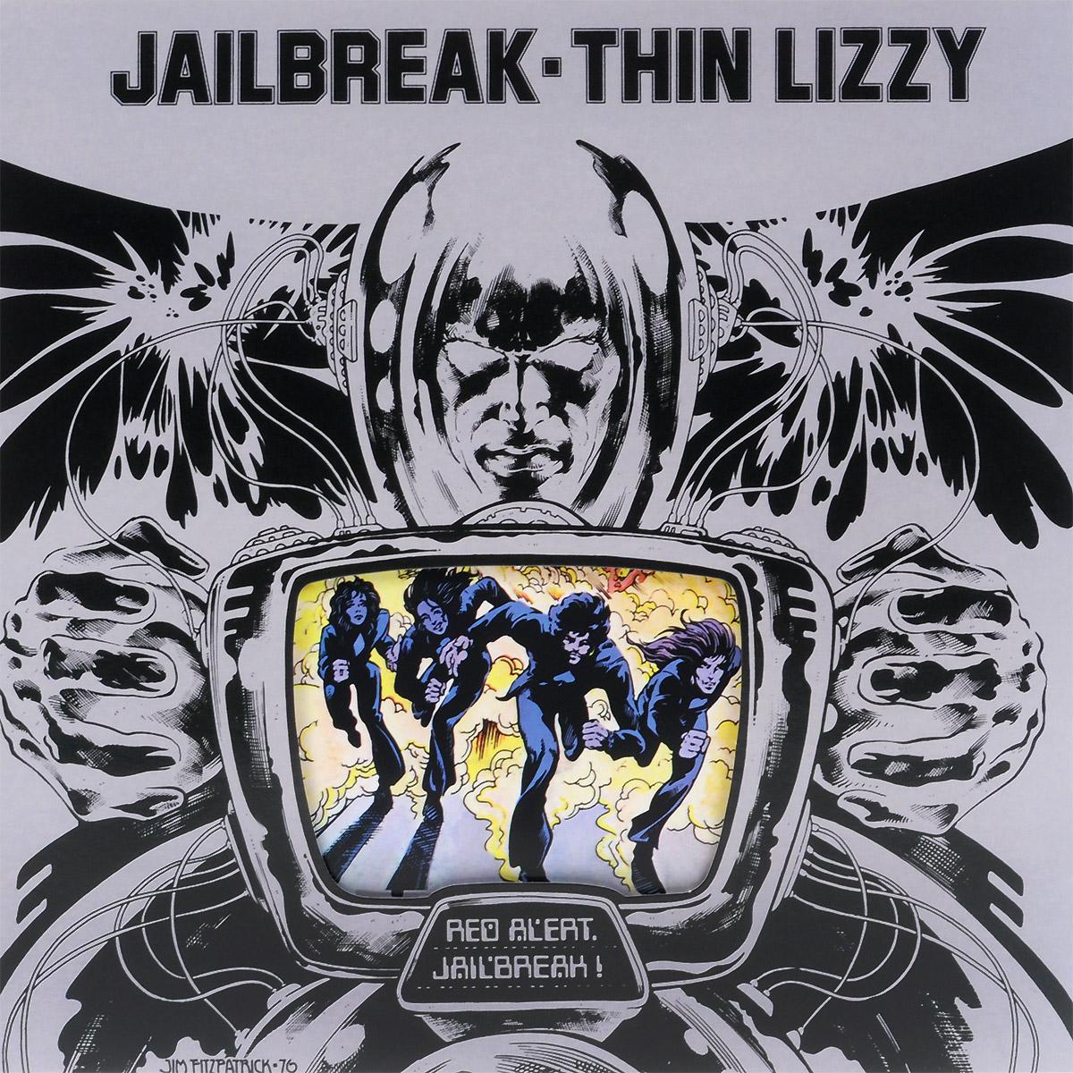 Thin Lizzy Thin Lizzy. Jailbreak (LP) thin lizzy thin lizzy black rose 180 gr