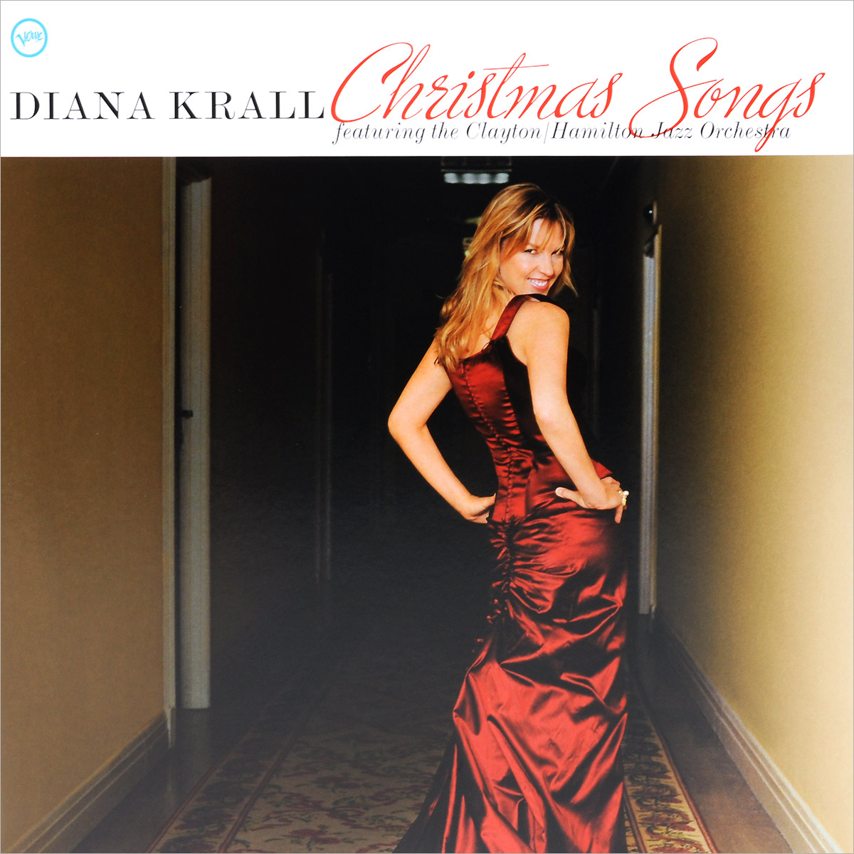 Дайана Кролл,Clayton/Hamilton Jazz Orchestra Diana Krall. Christmas Songs (LP) дайана кролл diana krall quiet nights deluxe edition cd dvd