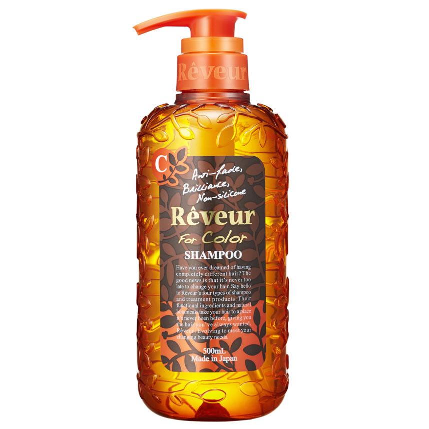 Reveur Шампунь For Color, для окрашенных волос, 500 млFS-00103Беcсиликоновый шампунь Reveur For Color создан на основе трех специальных природных компонентов для защиты цвета: белка масла кукурузы, масла арганы, экстракта катрана,также четырнадцати растительных экстрактов для восстановления повреждений, например, масло ши, масло макадами, масло оливы, масло шафрана, экстракт рисовых отрубей, масло подсолнечника, гидролизованный белок гороха, экстракт лимониума, экстракт свеклы, экстракт ромашки, экстракт яблока, экстракт амачя, экстракт шалфея, экстракт лемонграсса. Шампунь деликатно очищает, питает окрашенные волосы и надолго защищает цвет. Способствует восстановлению повреждения после окрашивания. Смягчающий компонент на основе коллагена делает волосы невероятно мягкими и послушными. Текстура Airy Floral имеет свежий и утонченный аромат.Рекомендуется для: окрашенных или осветленных волос, поврежденных волос, защиты цвета после окрашивания. Товар сертифицирован.