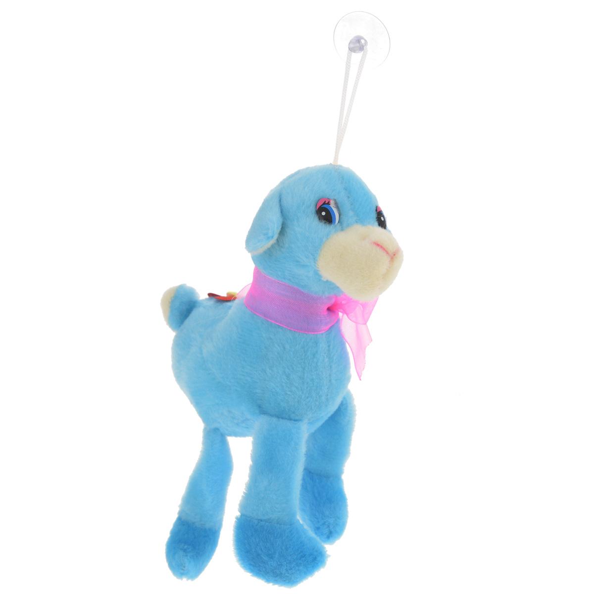Мягкая игрушка Sima-land Овечка, на присоске, цвет: голубой, 15 см. 511090NLED-424-2.5W-RОчаровательная мягкая игрушка Sima-land Овечка не оставит вас равнодушным и вызовет улыбку у каждого, кто ее увидит. Игрушка выполнена из искусственного меха и текстиля в виде забавной овечки, украшенной ярким бантом и цветком. К голове игрушки прикреплена петелька с силиконовой присоской, что позволит расположить ее в удобном месте. Мягкая и приятная на ощупь игрушка станет замечательным подарком, который вызовет массу положительных эмоций.