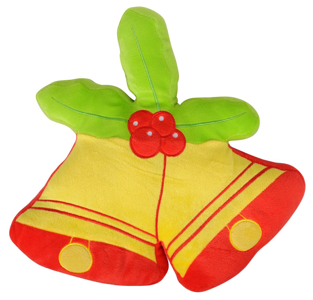 Подушка декоративная Home Queen Колокольчики, 38 х 36 смBL-1BДекоративная подушка Home Queen Колокольчики - это и игрушка, и предмет интерьера, и оригинальная подушка для автомобиля. Чехол подушки выполнен из полиэстровой ворсистой ткани. Внутри мягкий синтепоновый наполнитель. Красивая оригинальная подушка станет хорошим подарком и обязательно порадует получателя. Материал верха: 100% полиэстер. Наполнитель: синтепон. Размер подушки: 38 см х 36 см.