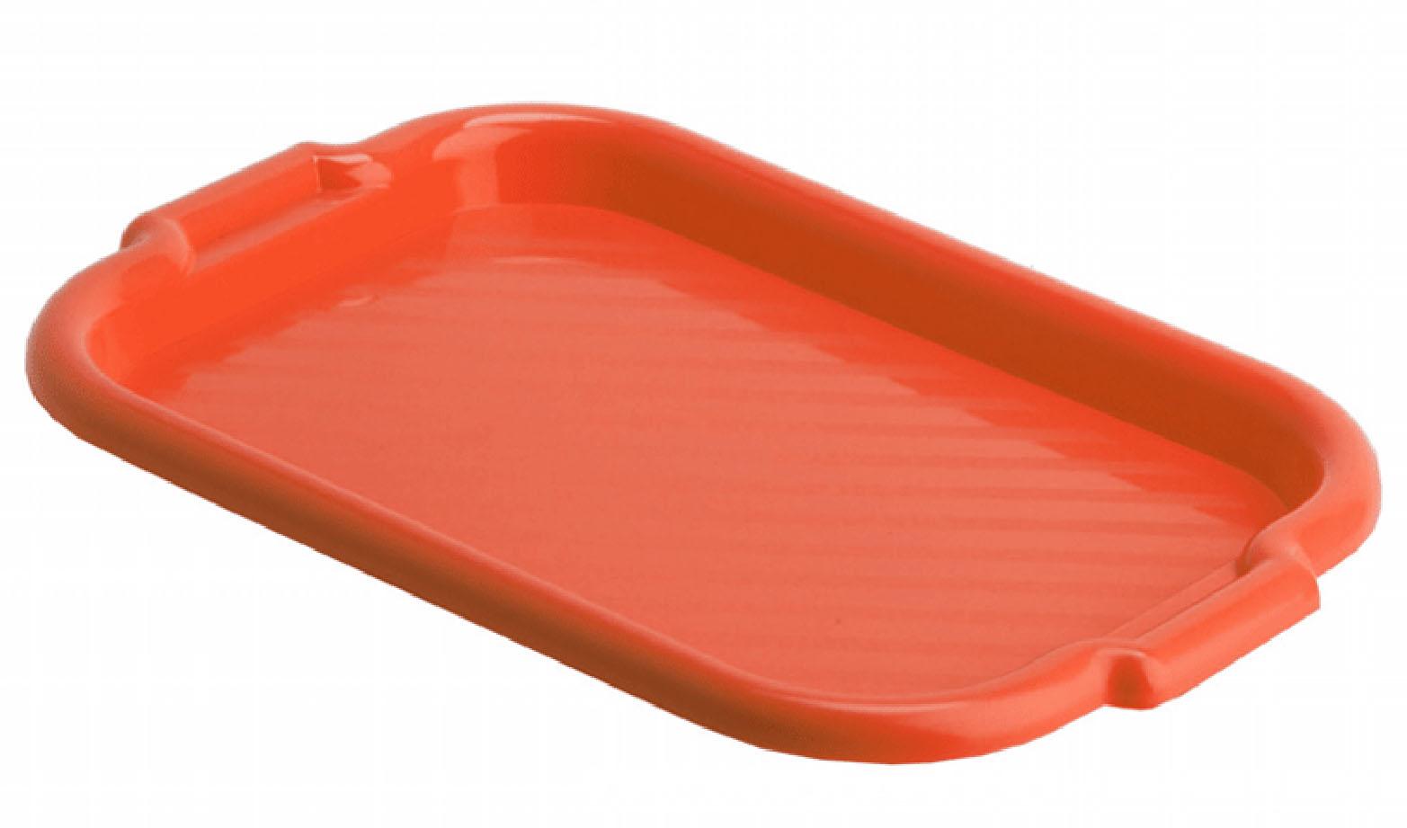 Поднос универсальный Idea, цвет: красный, 49 х 33 смTR40721B1N1Универсальный поднос Idea изготовлен из высококачественного прочного полипропилена. Поднос снабжен ручками для удобной переноски. Универсальный, подходит для переноски, хранения и сервировки продуктов. Такой поднос пригодится в любом хозяйстве.