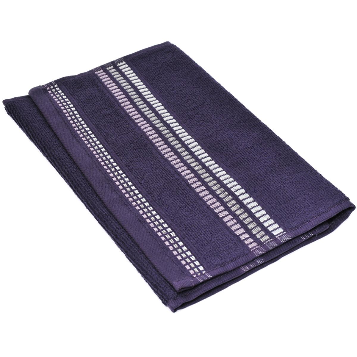 Полотенце махровое Coronet Пиано, цвет: фиолетовый, 30 х 50 см391602Махровое полотенце Coronet Пиано, изготовленное из натурального хлопка, подарит массу положительных эмоций и приятных ощущений. Полотенце отличается нежностью и мягкостью материала, утонченным дизайном и превосходным качеством. Оно прекрасно впитывает влагу, быстро сохнет и не теряет своих свойств после многократных стирок. Махровое полотенце Coronet Пиано станет достойным выбором для вас и приятным подарком для ваших близких. Мягкость и высокое качество материала, из которого изготовлены полотенца не оставит вас равнодушными.