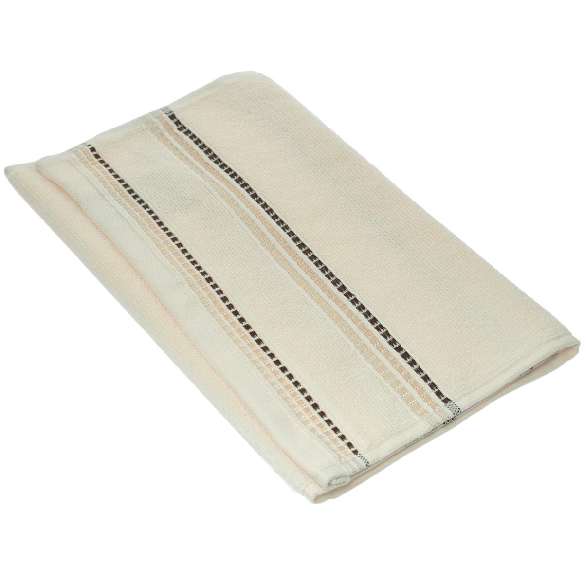 Полотенце махровое Coronet Пиано, цвет: молочный, 30 см х 50 см84550Махровое полотенце Coronet Пиано, изготовленное из натурального хлопка, подарит массу положительных эмоций и приятных ощущений. Полотенце отличается нежностью и мягкостью материала, утонченным дизайном и превосходным качеством. Оно прекрасно впитывает влагу, быстро сохнет и не теряет своих свойств после многократных стирок. Махровое полотенце Coronet Пиано станет достойным выбором для вас и приятным подарком для ваших близких. Мягкость и высокое качество материала, из которого изготовлены полотенца не оставит вас равнодушными.