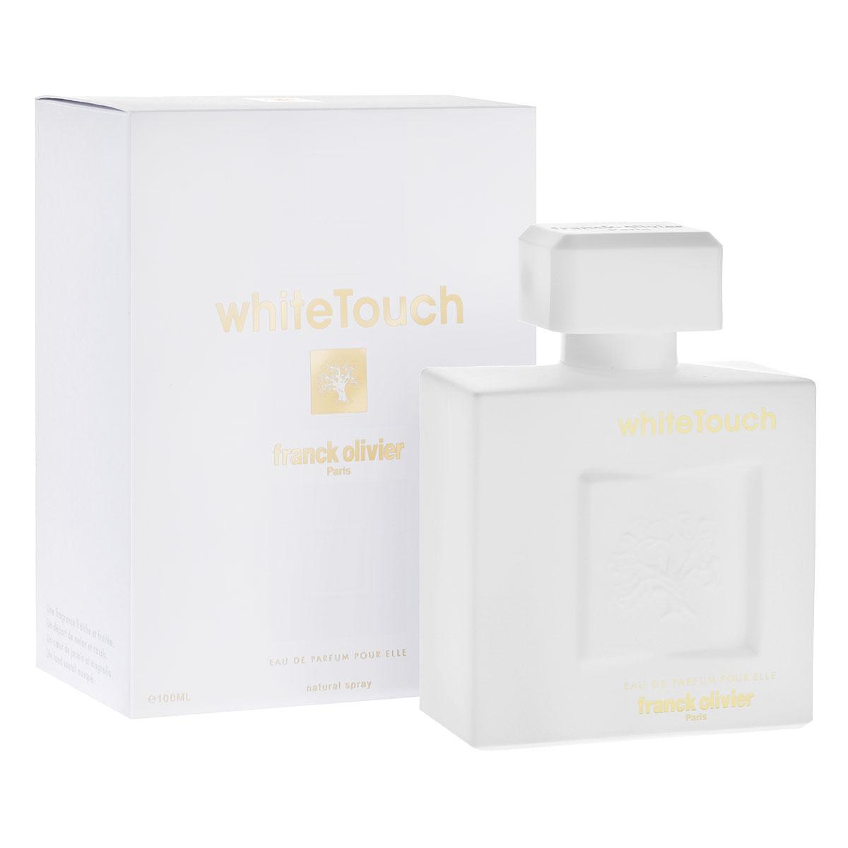Franck Olivier Парфюмерная вода White Touch, женская, 100 мл franck olivier парфюмерная вода sun java white женская 50 мл