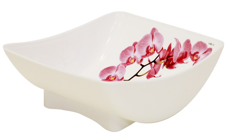 Салатник Idea Орхидея, 450 мл115610Салатник Idea Орхидея изготовлен из высококачественного пластика и идеально подходит для сервировки стола. Такой салатник не только украсит ваш кухонный стол и подчеркнет прекрасный вкус хозяйки, но и станет отличным подарком.
