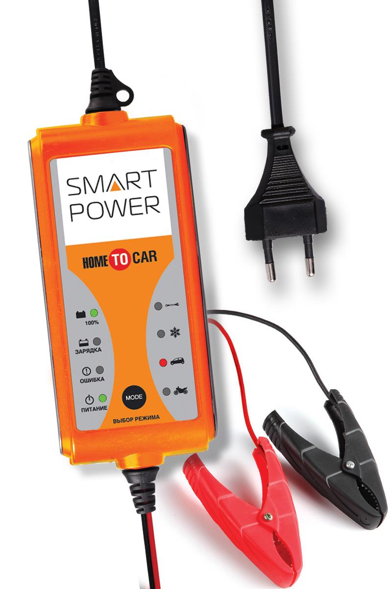 Устройство зарядное для автомобилей Berkut Smart Power SP-4NSP-4NКомпактное универсальное зарядное устройство Berkut Smart Power SP-4N бытового использования предназначено для обслуживания и зарядки всех типов 12-вольтовых аккумуляторных батарей, используемых в легковых автомобилях, мото и садовой технике.Функциональные особенности: Микропроцессорное электронное управление.Автоматический выбор стадий заряда.Для всех типов 12В свинцово-кислотных АКБ (в том числе необслуживаемых MF, клапанно-регулируемых VRLA, с пористым сорбентом из стекловолокна AGM, а также WET, GEL, Calcium type).Поэтапная программа быстрого и бережного заряда в девять стадий.Память последнего режима заряда при отключении питания.4 режима работы устройства на выбор, включая режим восстановления - десульфатацию.3 варианта подключения для зарядки АКБ: контакты-крокодилы, штекер в прикуриватель, кольцевые клеммы. Входное напряжение: 220-240В, 50 Гц. Выходное напряжение: 14,4-147В. Максимальный ток заряда: 4 А. Остаточное напряжение на клеммах заряжаемой АКБ: 5-6В. Емкость заряжаемой АКБ: 1,2 Ач-80 Ач. Цикл зарядки: 9 стадий, полностью автоматический.