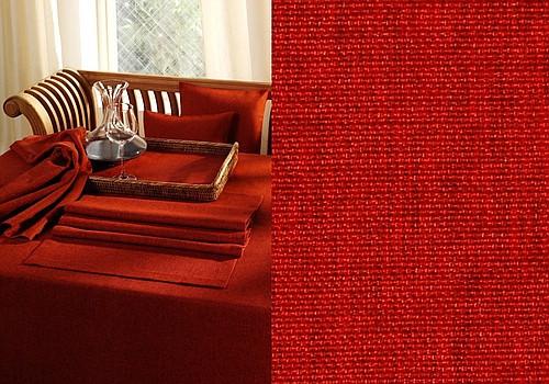 Скатерть Schaefer, круглая, цвет: красный, диаметр 170 см. 4129ПРК-17-17Великолепная скатерть Schaefer, выполненная из полиэстера, органично впишется в интерьер любого помещения, а оригинальный дизайн удовлетворит даже самый изысканный вкус. Изделие легко стирать и гладить, не требует специального ухода.Это текстильное изделие станет удобным и оригинальным украшением вашего дома!Изысканный текстиль от немецкой компании Schaefer - это красота, стиль и уют в вашем доме. Дарите себе и близким красоту каждый день!