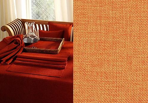 Скатерть Schaefer, круглая, цвет: оранжевый, диаметр 170 см. 4129AMC-00070Великолепная скатерть Schaefer, выполненная из полиэстера, органично впишется в интерьер любого помещения, а оригинальный дизайн удовлетворит даже самый изысканный вкус. Изделие легко стирать и гладить, не требует специального ухода.Это текстильное изделие станет удобным и оригинальным украшением вашего дома!Изысканный текстиль от немецкой компании Schaefer - это красота, стиль и уют в вашем доме. Дарите себе и близким красоту каждый день!