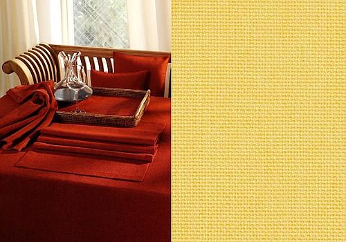 Скатерть Schaefer, прямоугольная, цвет: желтый, 135x 220 см. 412907340-427Великолепная скатерть Schaefer, выполненная из полиэстера, органично впишется в интерьер любого помещения, а оригинальный дизайн удовлетворит даже самый изысканный вкус. Изделие легко стирать и гладить, не требует специального ухода.Это текстильное изделие станет удобным и оригинальным украшением вашего дома!Изысканный текстиль от немецкой компании Schaefer - это красота, стиль и уют в вашем доме. Дарите себе и близким красоту каждый день!