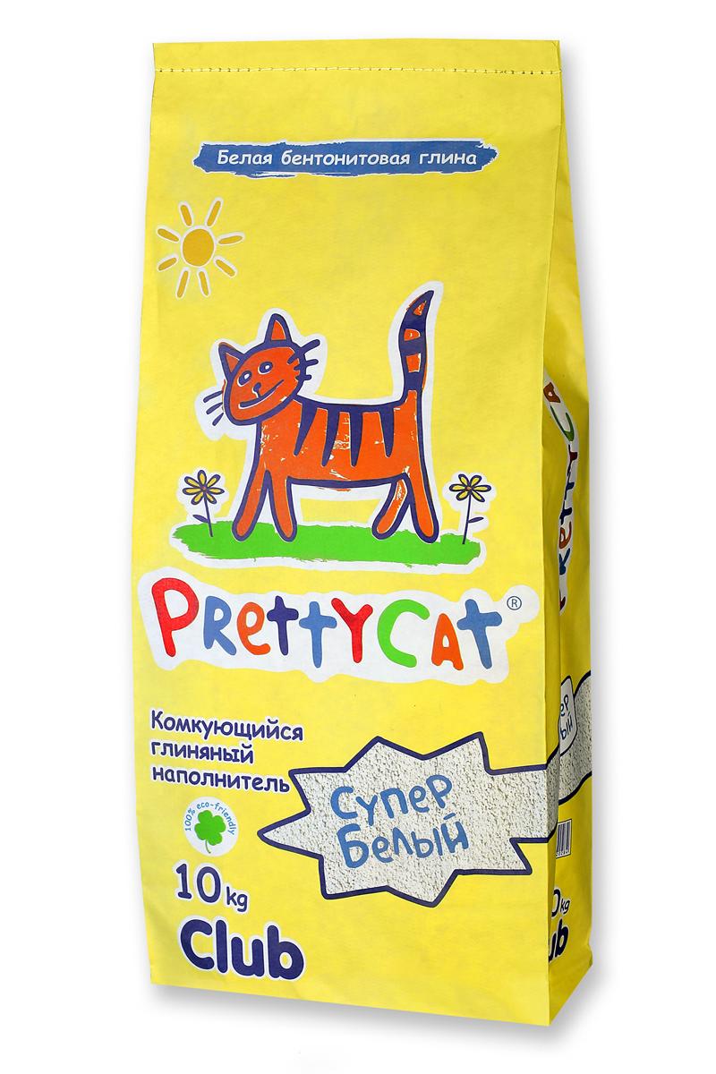 Наполнитель для кошачьих туалетов PrettyCat Супер белый, комкующийся, 10 кг. 6202840120710Наполнитель для кошачьих туалетов PrettyCat Супер белый - это 100% натуральный комкующийся наполнитель. Изготовлен из белой бентонитовой глины, лучшего европейского качества. Впитывает до 400% влаги, прекрасно комкается в идеально ровные шарики. Уничтожает запахи и обеспечивает двойное обеспыливание. Характеристики: Материал: белая бентонитовая глина. Вес: 10 кг. Диаметр гранул: 0,6 - 1,7 мм.