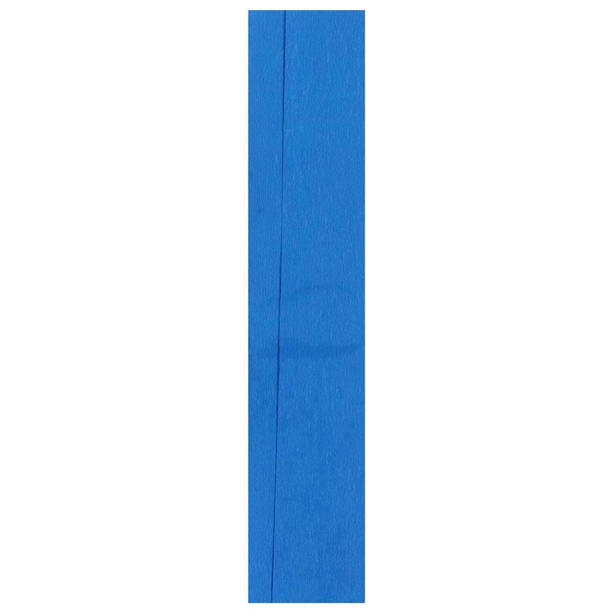 Бумага креповая Folia, цвет: синий (28), 50 см x 2,5 м55052Бумага креповая Folia - прекрасный материал для декорирования, украшения интерьера, изготовления искусственных цветов, эффектной упаковки и различных поделок. Бумага прекрасно держит форму, отлично крепится и замечательно подходит для изготовления праздничной упаковки для цветов.