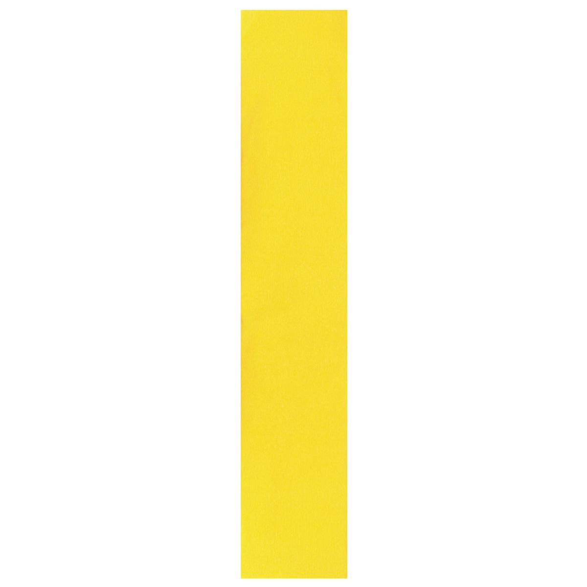 Бумага креповая Folia, цвет: желтый (06), 50 см x 2,5 м55052Бумага креповая Folia - прекрасный материал для декорирования, украшения интерьера, изготовления искусственных цветов, эффектной упаковки и различных поделок. Бумага прекрасно держит форму, отлично крепится и замечательно подходит для изготовления праздничной упаковки для цветов.