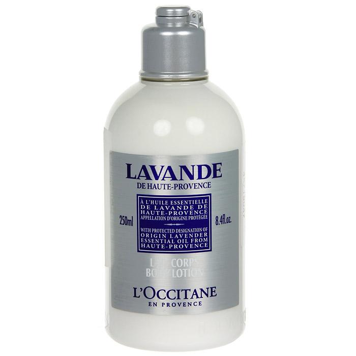 Молочко для тела LOccitane Лаванда, увлажняющее, 250 мл308103Молочко для тела LOccitane Лаванда содержит эфирное масло лаванды из Прованса, которое увлажняет, смягчает и оставляет свежий и легкий аромат на коже. Характеристики:Объем: 250 мл. Артикул: 308103. Производитель: Франция.Loccitane (Л окситан) - натуральная косметика с юга Франции, основатель которой Оливье Боссан. Название Loccitane происходит от названия старинной провинции - Окситании. Это также подчеркивает идею кампании - сочетании традиций и компонентов из Средиземноморья в средствах по уходу за кожей и для дома. LOccitane использует для производства косметических средств натуральные продукты: лаванду, оливки, тростниковый сахар, мед, миндаль, экстракты винограда и белого чая, эфирные масла розы, апельсина, морская соль также идет в дело. Специалисты компании с особой тщательностью отбирают сырье. Учитывается множество факторов, от места и условий выращивания сырья до времени и технологии сборки. Товар сертифицирован.