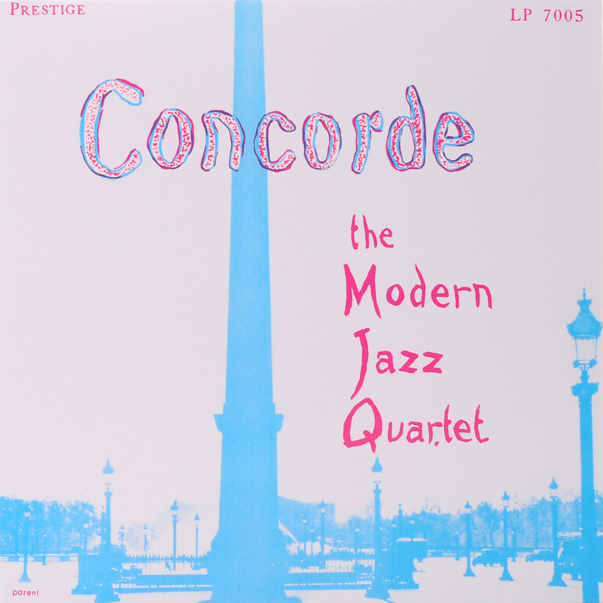 The Modern Jazz Quartet The Modern Jazz Quartet. Concorde (LP) diana vreeland the modern woman the bazaar years 1936 1962