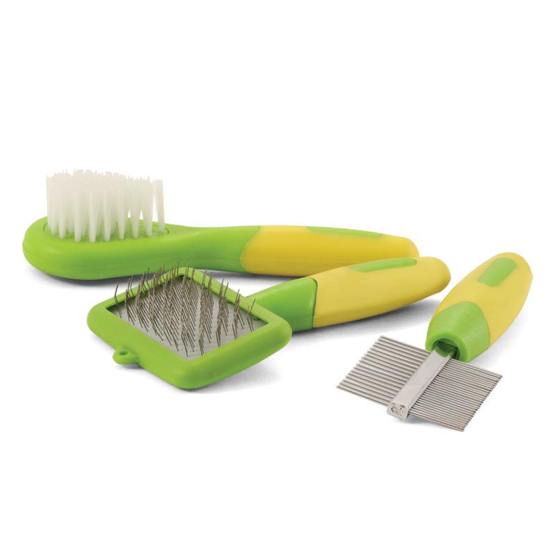 Набор для ухода за мелкими животными Triol, 3 предмета набор для ухода за утюгом и деликатными тканями bon 3 предмета
