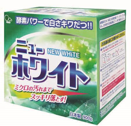 Стиральный порошок Mitsuei New White, 900 гGC204/30Порошок идеально подходит для цветного белья. Смягчающие компоненты в составе порошка обеспечат Вашим вещам невероятную мягкость. Ферменты в составе средства, расщепляют любые сложные загрязнения, даже микрозагрязнения, и они с легкостью вымываются из волокон ткани