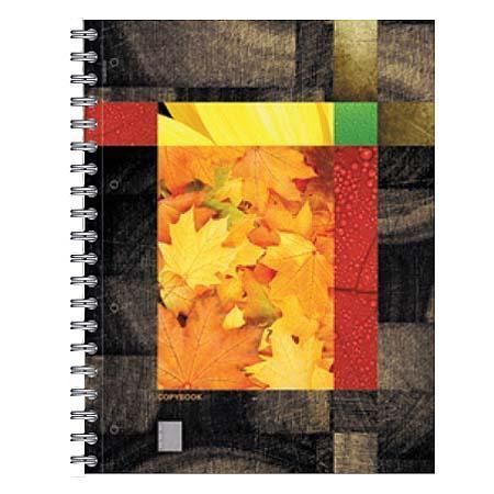 Тетрадь А4 120л Eco-Texture,жесткий ламинат (глянцевый),кленовые листы96Т5тB1к_12918тетрадь А4 120л Eco-Texture, жесткий ламинат (глянцевый), кленовые листы