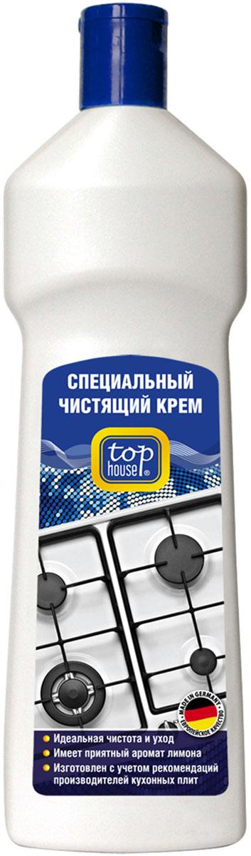 Чистящий крем для кухонных плит Top House, 500 млml32204Чистящий крем Top House разработан и произведен в Германии по новейшей технологии с учетом рекомендаций ведущих производителей кухонных плит. Идеально подходит для удаления стойких загрязнений с эмалированных поверхностей газовых и электрических плит, духовок и СВЧ-печей. - Легко удаляет застарелый пригревший жир, грязь и копоть. - Не оставляет царапин и разводов.- Придает великолепный блеск. - Не раздражает кожу рук. - Имеет приятный лимонный аромат. Состав: 15-30% полирующее вещество, менее 5% неионные ПАВ, антионные ПАВ; консерванты (метилизотиазолинон, бензизотиазолинон), ароматизатор. Товар сертифицирован.