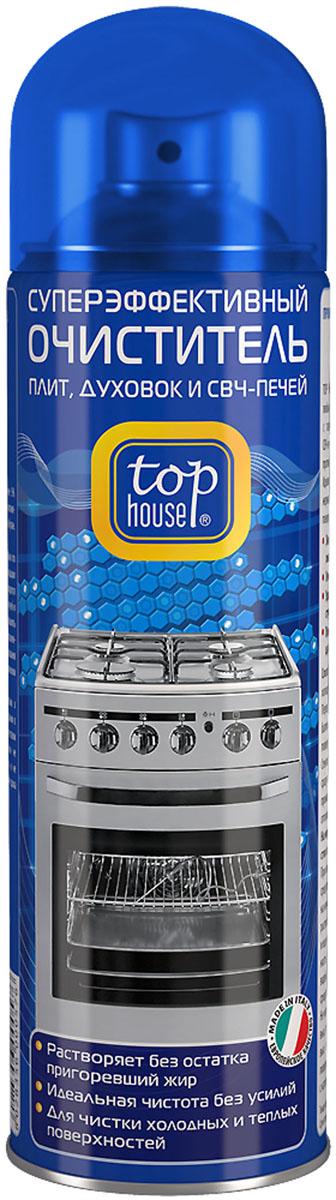 Очиститель плит, духовок и СВЧ-печей Top House, 500 мл6.295-875.0Очиститель плит, духовок и СВЧ-печей Top House (аэрозоль) - суперэффективный очиститель любых пригоревших загрязнений и жира с газовых и электрических плит, духовок, СВЧ-печей, грилей, решеток для барбекю, противней, жаровен, сковородок и кастрюль. Легко удаляет стойкий пригоревший жир с эмалированных, нержавеющих, стеклокерамических и стеклянных поверхностей. - Придает сияющую чистоту и блеск без царапин- Удаляет загрязнения даже в труднодоступных местах- Растворяет без остатка пригоревший жир- Идеальная чистота без усилий- Для чистки холодных и теплых поверхностейСостав: менее 5% анионных и неионных ПАВ, гексиленгликоль, моноэтаноламин, ароматизатор (гексил циннамал), пропан/бутан. Товар сертифицирован.