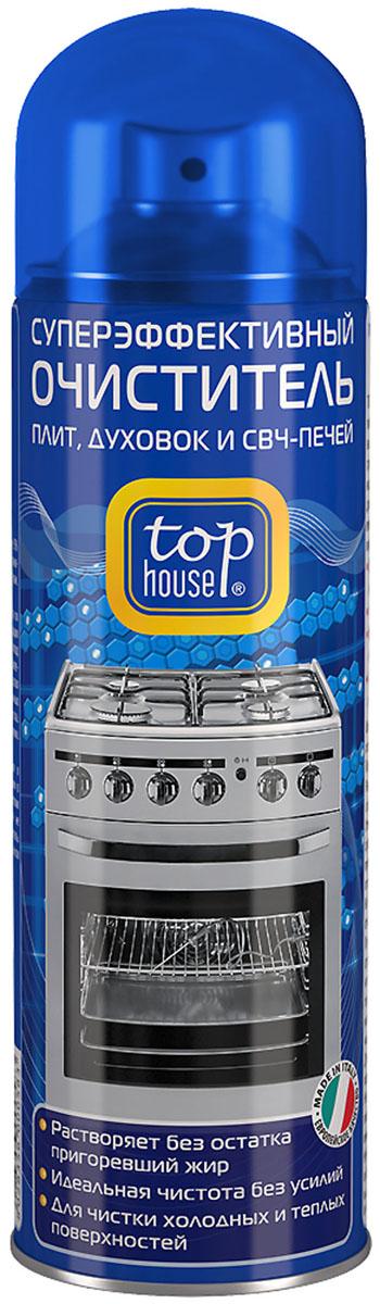 Очиститель плит, духовок и СВЧ-печей Top House, 300 мл391602Очиститель плит, духовок и СВЧ-печей Top House (аэрозоль) - суперэффективный очиститель любых пригоревших загрязнений и жира с газовых и электрических плит, духовок, СВЧ-печей, грилей, решеток для барбекю, противней, жаровен, сковородок и кастрюль. Легко удаляет стойкий пригоревший жир с эмалированных, нержавеющих, стеклокерамических и стеклянных поверхностей. - Придает сияющую чистоту и блеск без царапин- Удаляет загрязнения даже в труднодоступных местах- Растворяет без остатка пригоревший жир- Идеальная чистота без усилий- Для чистки холодных и теплых поверхностейСостав: менее 5% анионных и неионных ПАВ, гексиленгликоль, моноэтаноламин, ароматизатор (гексил циннамал), пропан/бутан. Товар сертифицирован. Уважаемые клиенты! Обращаем ваше внимание на возможные изменения в дизайне упаковки. Качественные характеристики товара остаются неизменными. Поставка осуществляется в зависимости от наличия на складе.