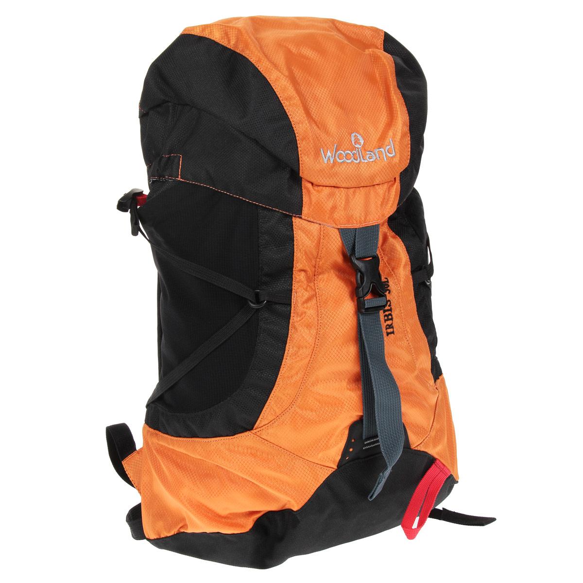 Рюкзак WoodLand Irbis 30, цвет: оранжевый, черный30783Классический универсальный рюкзак WoodLand Irbis 30 идеально подходит для восхождений в альпийском стиле, коротких походов и лыжных маршрутов. Компактный и легкий он прекрасно сидит на спине, не стесняя движений.Особенности рюкзака:Клапан несъемный с двумя карманами.Два кармашка на молнии на поясном ремне.Три внутренних кармашка (один на молнии).Raincover (защитный чехол) в комплекте.Два стрейч кармана на лямках.Вентилируемые лямки.Грудная стяжка с резиновым компенсатором.Пластиковая фурнитура YKK.