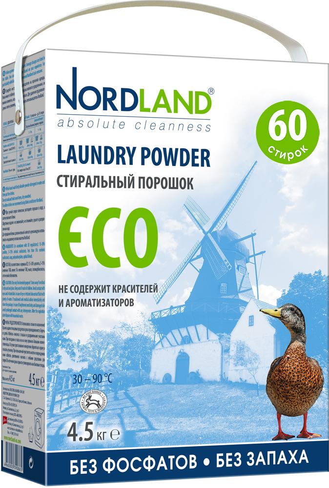 Стиральный порошок Nordland ECO, 4,5 кг531-402Стиральный порошок Nordland ECO нового поколения не содержит фосфатов и не имеет запаха. Специально разработан для использования в стиральных машинах всех типов при температуре от +30° до +90°С и для ручной стирки. Порошок подходит для стирки как белых, так и цветных тканей из натуральных, синтетических и смесовых волокон. Может использоваться для стирки верхней одежды, свитеров, курток, комбинезонов. Может использоваться в местах без централизованной системы канализации, например, загородом. - Без красителей и ароматизаторов- Заботится об экосистеме вашего дома- Хорошо выполаскивается- Мягко очищает и ухаживает за тканями- Не тестируется на животных- Экономичный расход (60 стирок)- Биораспад более 90%Состав: 15-30% цеолиты, 5-15% анионные ПАВ, менее 5%: неионные ПАВ, мыло, поликарбоксилаты, оптический отбеливатель. Вес: 4,5 кг. Товар сертифицирован.
