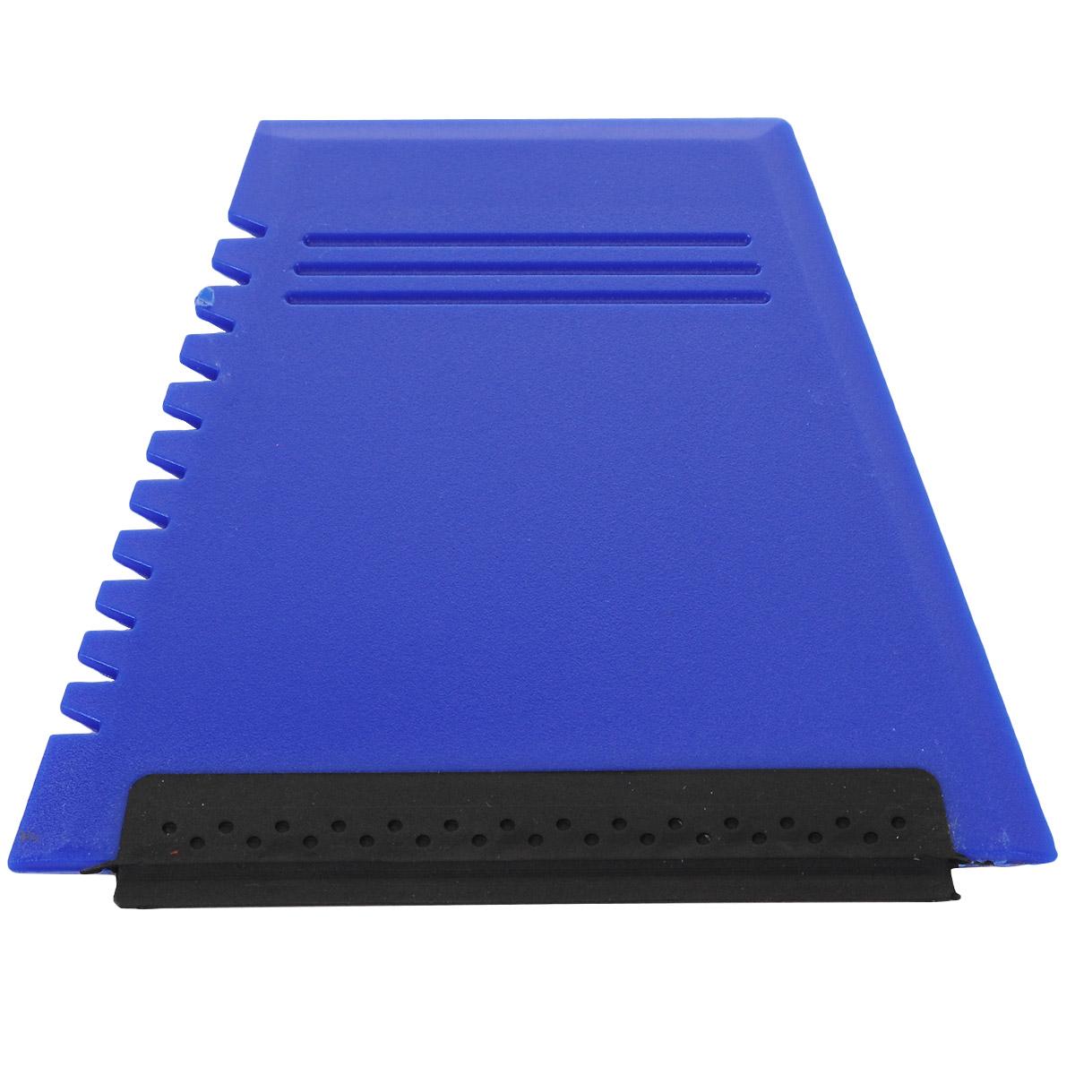 Скребок для уборки снега и льда Clingo, с водосгоном, цвет: синий, 12 x 11 см98298123_черныйУдобный в использовании и хранении скребок Clingo легко справиться со льдом и снегом. С водосгоном.