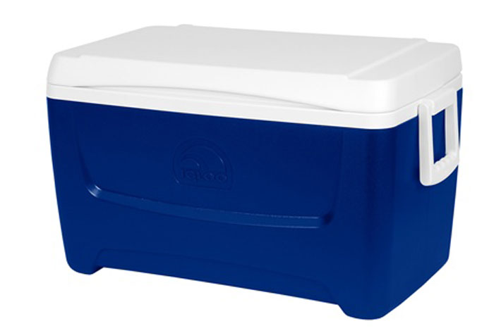 Изотермический контейнер Igloo Island Breeze, цвет: синий, 45 л igloo island breeze 28 цвет blue