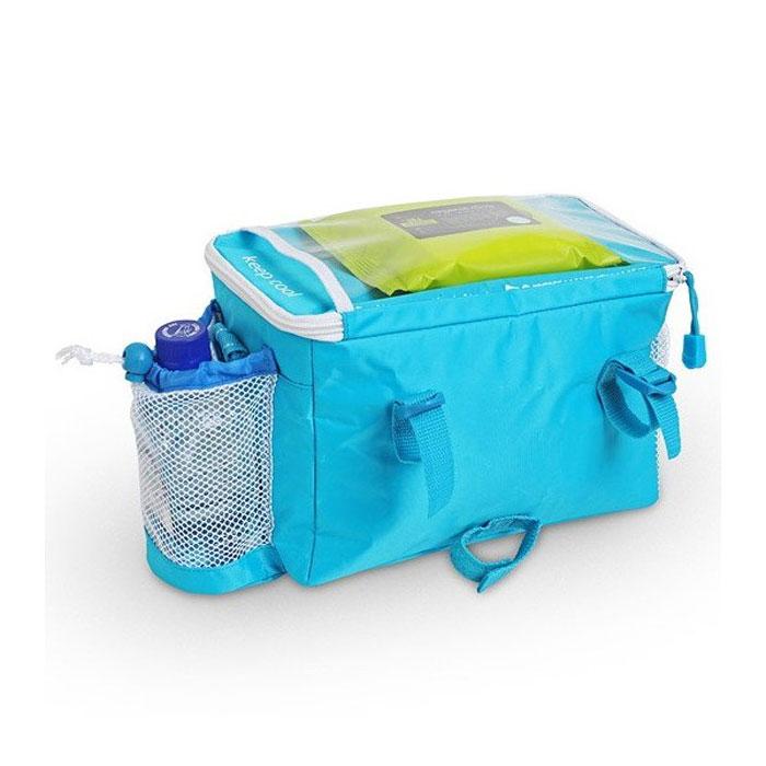 Сумка-термос для велосипеда Ezetil Keep Cool Holiday Bike, цвет: синий, 5 л10711681Сумка-термос для велосипеда Ezetil Keep Cool Holiday Bike идеально подходит путешествий. Сумка предназначена для транспортировки и сохранения охлажденных продуктов питания. Имеет 14 часовой период охлаждения. Для поддержания температуры обязательно использовать с аккумуляторами холода (докупается отдельно).Такая компактная и вместительный сумка послужит отличным аксессуаром во время походов на пикник или путешествий!Объем: 5 л.Длина: 27 см.Ширина: 17 см.Высота: 18 см.Изоляция: 5 мм.