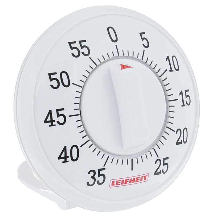 Таймер кухонный Leifheit Signature, на 60 мин22600Таймер Leifheit Signature, изготовленный из высококачественного пластика, станет вашим надежным помощником на кухне, прост в использовании. Максимальное время, на которое вы можете поставить таймер, составляет 60 минут.Оригинальный дизайн таймера украсит интерьер любой современной кухни, и теперь вы сможете без труда вскипятить молоко, отварить пельмени или вовремя вынуть из духовки аппетитный пирог. Таймер со звуковым сигналом.