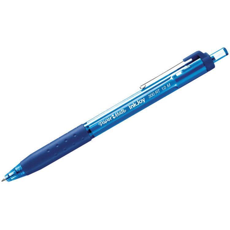 Ручка шариковаяINK JOY 300 ,с кнопочным механизмом, синий72523WDОсобенности: автоматическая ручка