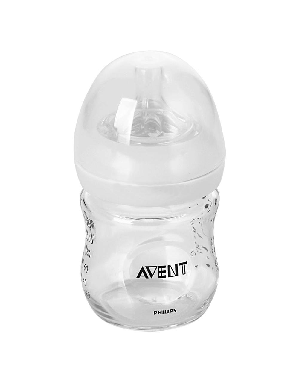 """Стеклянная бутылочка Philips Avent серии Natural поможет сделать процесс кормления более естественным для малыша и для Вас. Соска с уникальными лепестками повторяет форму груди и позволяет легко совмещать кормление грудью и кормление из бутылочки. Стеклянная бутылочка серии Natural выдерживает перепады температуры, поэтому ее можно безопасно хранить в холодильнике, нагревать и стерилизовать. Благодаря широкой соске, повторяющей форму груди, можно легко сочетать кормление грудью и кормление из бутылочки. Специальные """"лепестки"""" внутри соски делают ее более мягкой и гибкой, не позволяя соске сминаться, что создает дополнительный комфорт для ребенка во время кормления. Инновационный двойной клапан снижает вероятность колик, так как воздух поступает в бутылочку, а не в животик малыша. Благодаря широкому горлышку бутылочку удобно мыть и наполнять. Небольшое количество деталей позволяет быстро собрать и разобрать бутылочку. Полностью перерабатываемое..."""