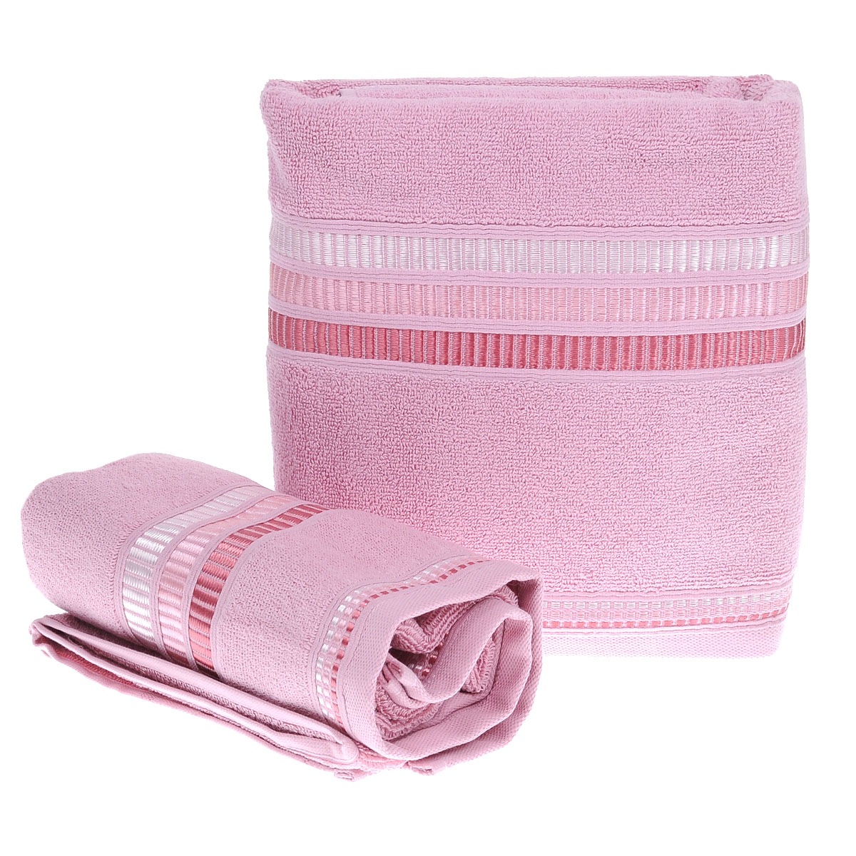 Набор махровых полотенец Coronet Пиано, цвет: сиреневый, 2 шт. Б-МП-2020-15-11-с1004900000360Подарочный набор Coronet Пиано состоит из двух полотенец разного размера, выполненных из натуральной махровой ткани. Полотенца украшены изящным декоративным тиснением. Мягкие и уютные, они прекрасно впитывают влагу и легко стираются. Такой набор подарит вам мягкость и необыкновенный комфорт в использовании. Благодаря высокому качеству изготовления, полотенце будет радовать многие годы.Полотенца упакованы в подарочную коробку и станут приятным и полезным подарком вашим друзьям и близким. Комплектация: 2 шт. Плотность полотенец 550 г/м.
