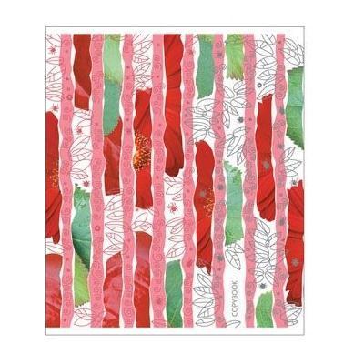 Полиграфика Тетрадь, 96л Leaves&Beetles, тиснение фольгой + УФ-лак, цвет: красный72523WDОтличная тетрадь подойдет как школьнику, так и в повседневной жизни. Тетрадь сделана из качественной бумаги. Обложку украшает отличный принт.