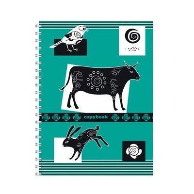 Полиграфика Тетрадь на спирали А5, 120л Контрастная открытка, 2 пантона, жесткий ламинат (глянцевый), рисунок: корова72523WDОтличная тетрадь подойдет как школьнику, так и в повседневной жизни. Тетрадь сделана из качественной бумаги. Обложку украшает отличный принт.