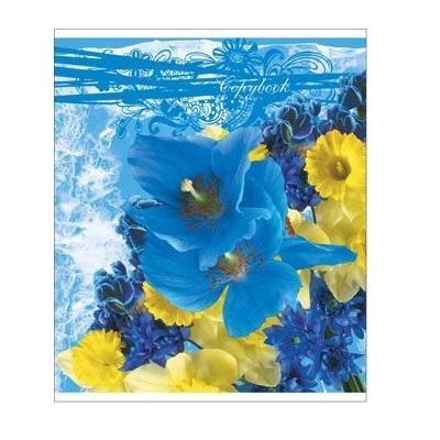 Полиграфика Тетрадь, 96л Floral Melody72523WDОтличная тетрадь подойдет как школьнику так и в повседневной жизни. Тетрадь зделана с качественой бумаги. Обложку украшает отличный принт.