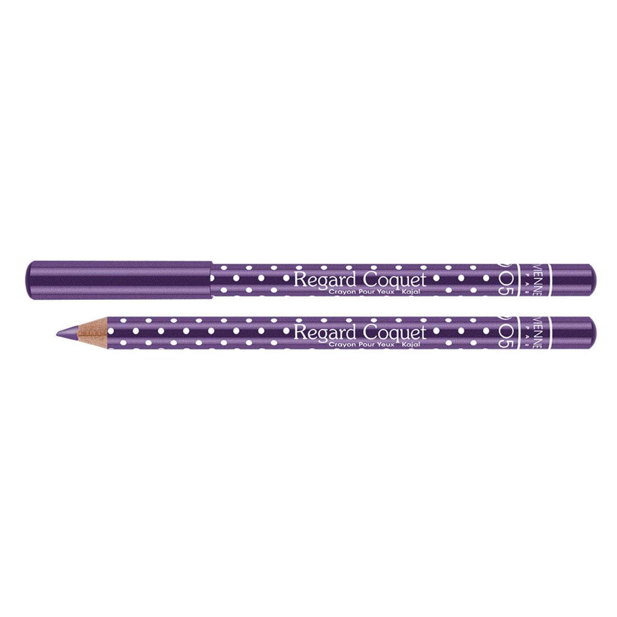Vivienne Sabo Карандаш-каял для глаз Regard Сoquet, тон №05 (Фиолетовый), 0,78 гB2542408Уникальная формула на основе натуральных ухаживающих компонентов и нежная кремовая текстура, позволяют использовать карандаши для внутреннего века, создавая идеальную тонкую линию и придавая взгляду особую выразительность и Парижский шарм. Товар сертифицирован.