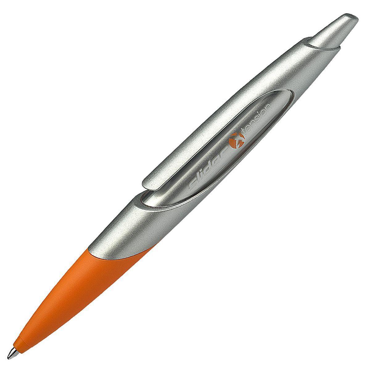 Ручка шариковая SLIDER XTENTION, M - 0,5 мм, оранжевый корпус; синий цвет чернил.S1301/1 S1301-01/1