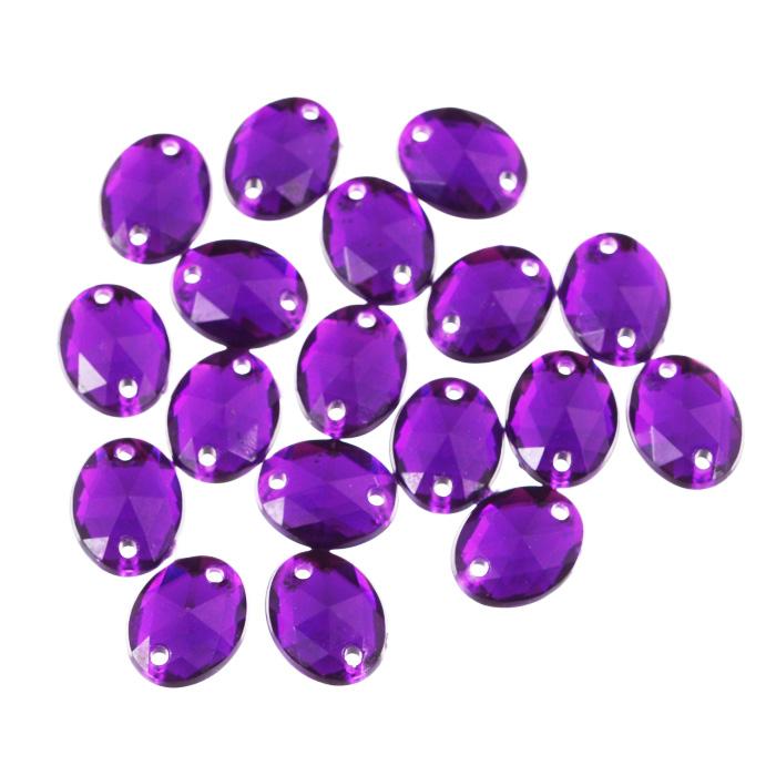 Стразы пришивные Астра, акриловые, овальные, цвет: темный пурпур (22), 8 мм х 10 мм, 18 шт. 7701650_227701650_22 т.пурпурНабор страз Астра, изготовленный из акрила, позволит вам украсить одежду и аксессуары. Стразы оригинального и яркого дизайна выполнены в форме овала и оснащены отверстиям для пришивания. Украшение стразами поможет сделать любую вещь оригинальной и неповторимой.