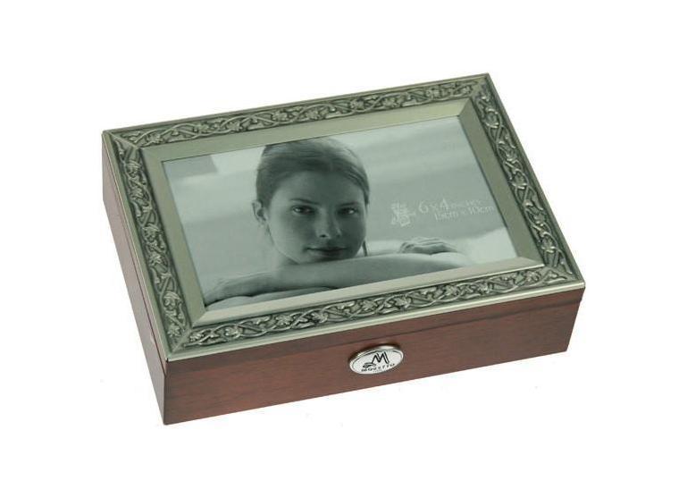 Шкатулка ювелирная Moretto, цвет: коричневый, 18 х 13 х 5 см 39800 статуэтка русские подарки африканка 12 х 9 х 34 см
