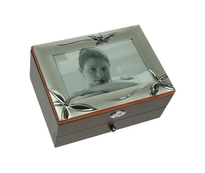 Шкатулка Moretto, с фоторамкой. 39810 статуэтка русские подарки мисс рандеву 11 х 10 х 31 см