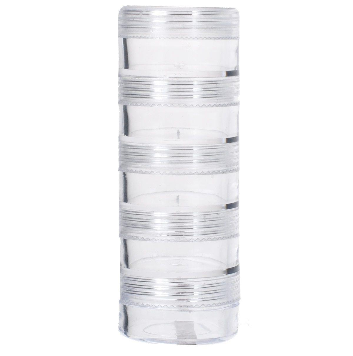 Контейнер для бисера Hobby & Pro, 6 секций41619Коробка для бисера, изготовленная из прозрачного пластика. В ней можно хранить мелкие предметы для рукоделия, например, бисер, блестки, стразы или пайетки. Изделие плотно закрывает прозрачной крышкой. Такая коробка поможет держать вещи в порядке.