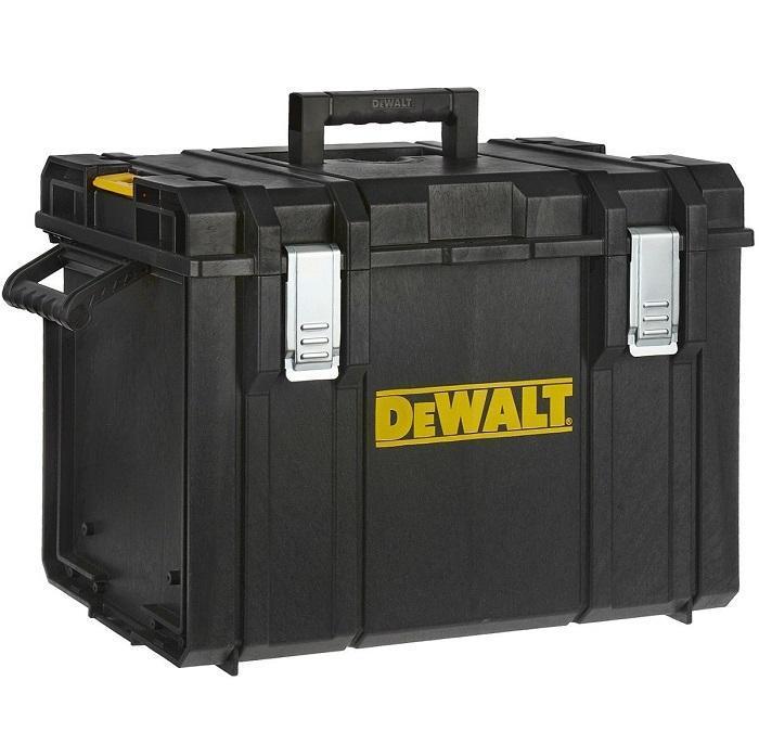 Ящик-модуль для инструмента DeWalt Tough System DS40065591Ящик инструментальный DeWalt Tough System DS400 со съемным лотком для хранения мелкого инструмента специальный вертикальный органайзер. Входит в комплектацию модульной системы хранения инструмента DeWalt Tough System 1-70-349.