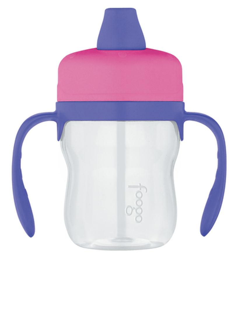 Поильник Thermos Foogo Phases, цвет: розовый, сиреневый, 230 мл110060Поильник Thermos Foogo Phases предназначен для детей. Он изготовлен из высококачественного пластика и силикона. Изделие изготовлено из небьющихся материалов, которыепредотвращают риск случайной поломки бутылочки ребенком. Поильник позволяет сохранить продукты и напитки безопасными и полезными для здоровья малыша максимально долго. Изделие не содержит бисфенол-А. Благодаря специальным ручкам термос не выскальзывает из рук.Диаметр (по верхнему краю): 5,5 см. Диаметр основания: 6 см. Высота (с учетом крышки): 14 см.