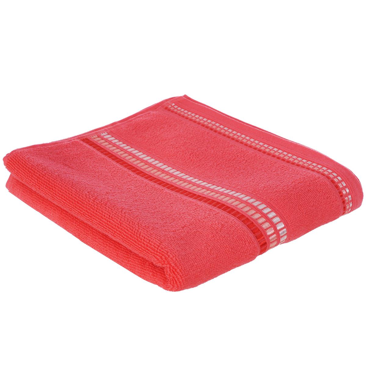 Полотенце махровое Coronet Пиано, цвет: коралловый, 50 х 90 смES-412Махровое полотенце Coronet Пиано, изготовленное из натурального хлопка, подарит массу положительных эмоций и приятных ощущений. Полотенце отличается нежностью и мягкостью материала, утонченным дизайном и превосходным качеством. Оно прекрасно впитывает влагу, быстро сохнет и не теряет своих свойств после многократных стирок. Махровое полотенце Coronet Пиано станет достойным выбором для вас и приятным подарком для ваших близких. Мягкость и высокое качество материала, из которого изготовлены полотенца не оставит вас равнодушными.